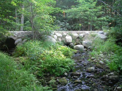 Crossing to be replaced on Carloe Brook, Maine