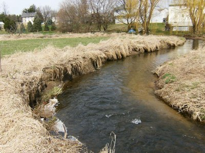 Photo of Erosion in Willow Creek, Pennsylvania