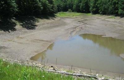 Pool Behind Browns Run Dam, Pennsylvania