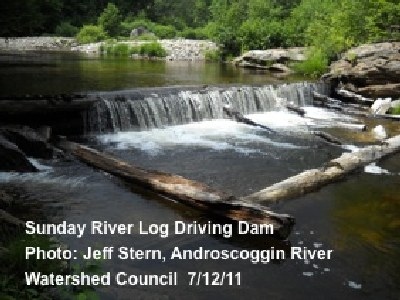 Photo of Sunday River Log Driving Dam in Maine