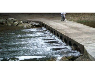Passage Barrier on Thorn Creek, West Virginia