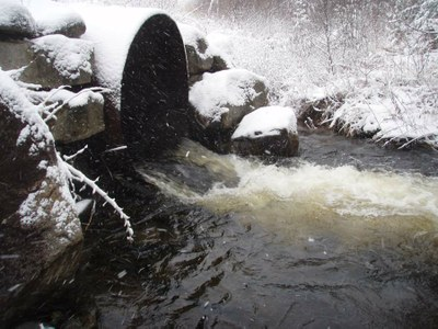 Culvert to be Replaced on Umpire Brook, Vermont