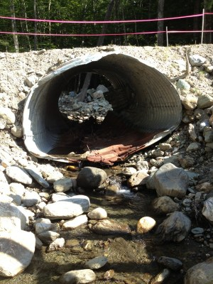 Photo of Nason Brook Culvert, White River, Vermont